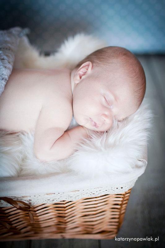Aleks sesja niemowleca Kalisz 012