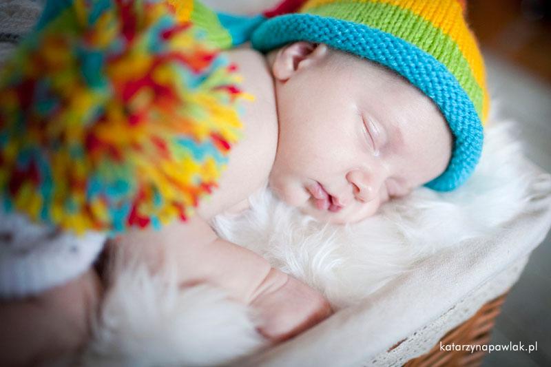 Aleks sesja niemowleca Kalisz 015