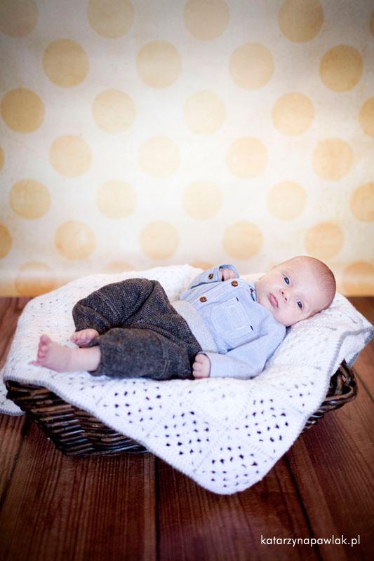 Aleks sesja niemowleca Kalisz 017