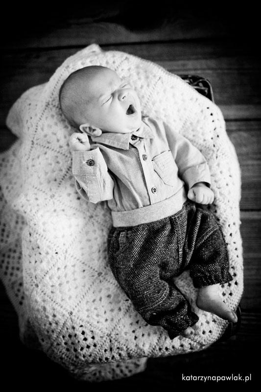 Aleks sesja niemowleca Kalisz 019