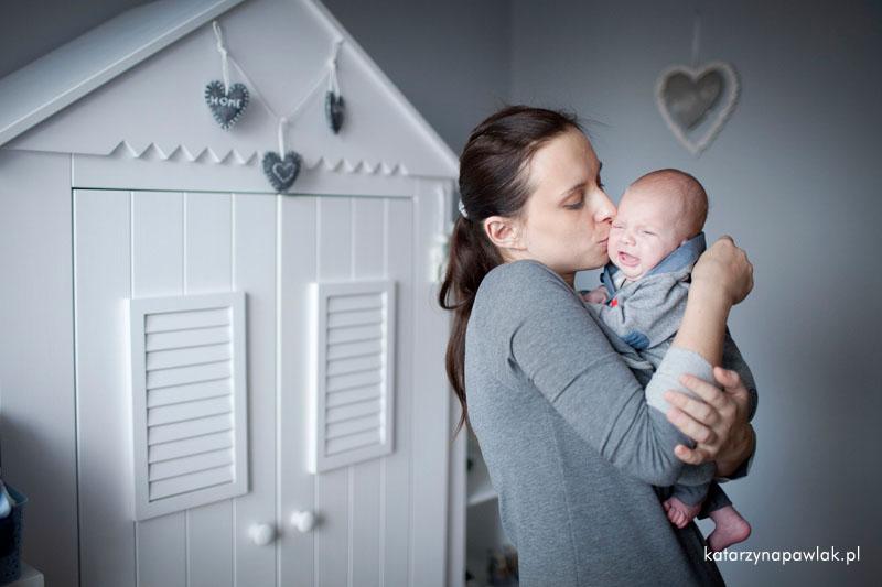 Aleks sesja niemowleca Kalisz 021