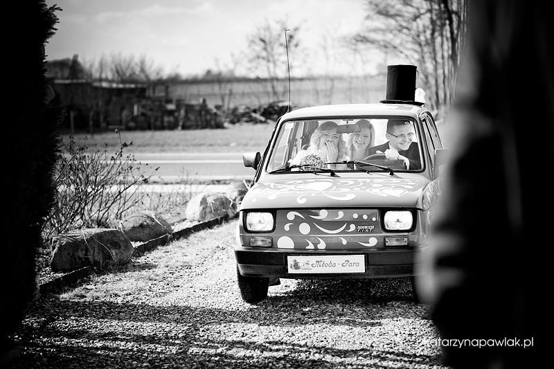 Beata & Marcin reportaz slubny Szczytniki 009