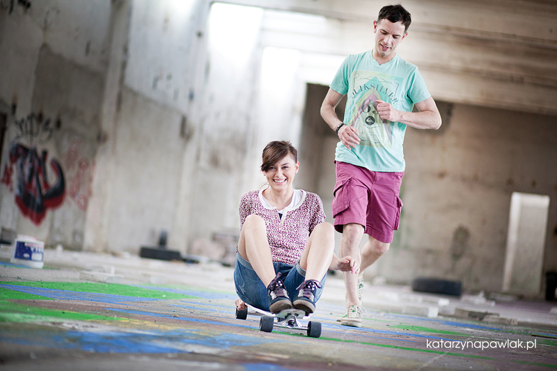 Ewelina & Marcin sesja narzeczenska Kalisz 013