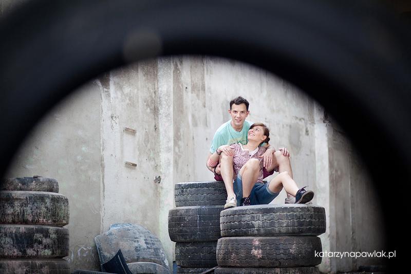 Ewelina & Marcin sesja narzeczenska Kalisz 020