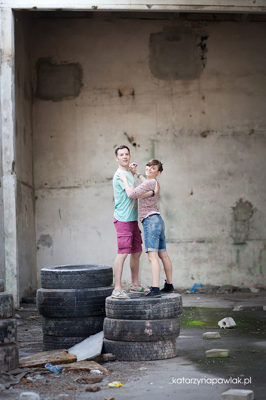 Ewelina & Marcin sesja narzeczenska Kalisz 021