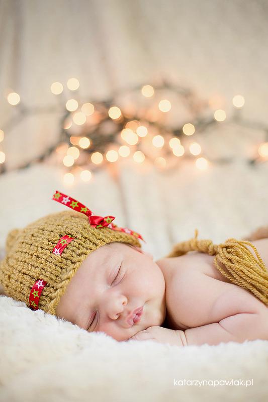 Lila sesja niemowleca Kalisz 023